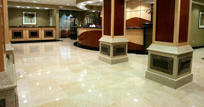 Granite Mable Tiles Laying2