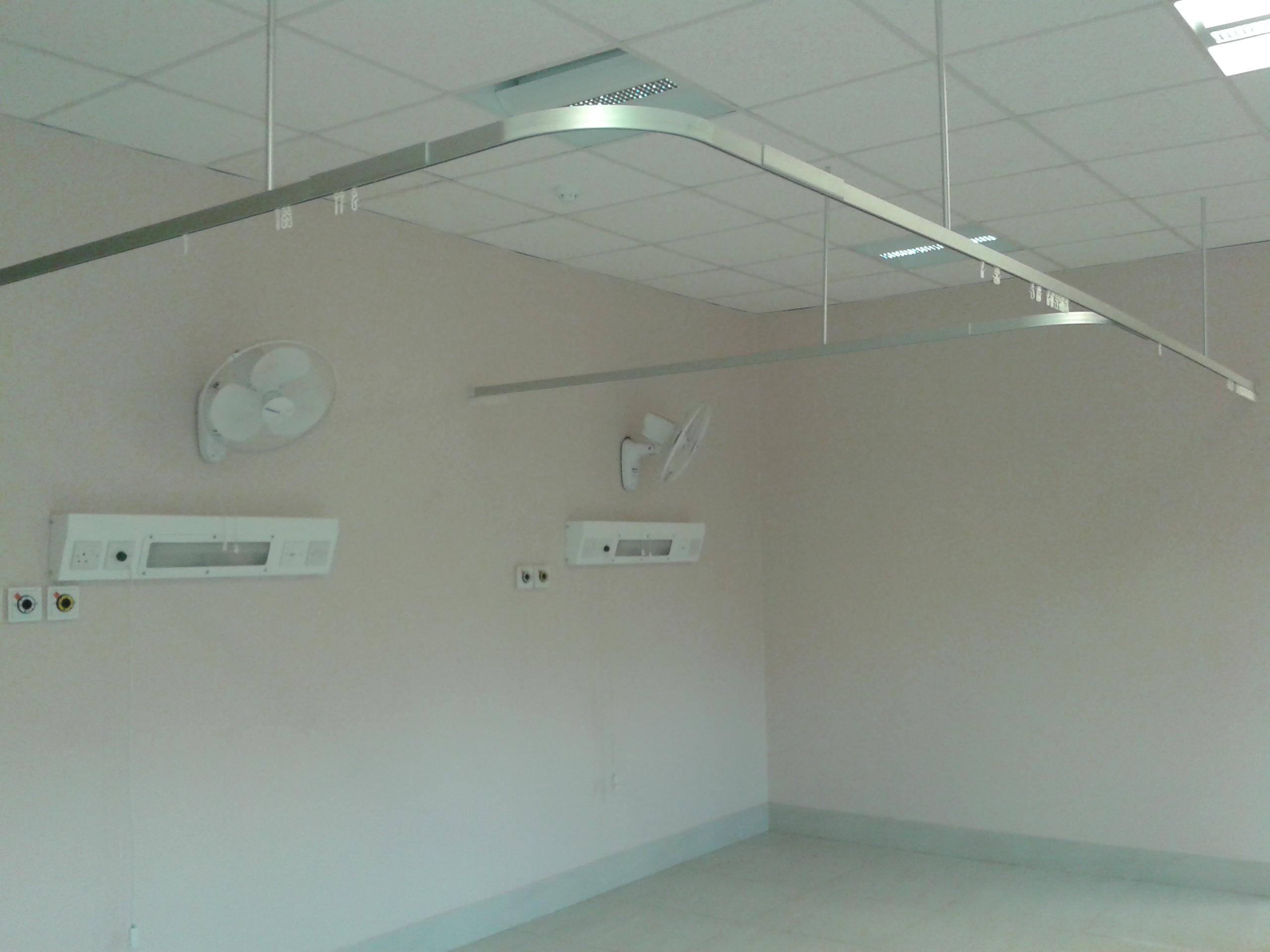 Hospital bathroom design